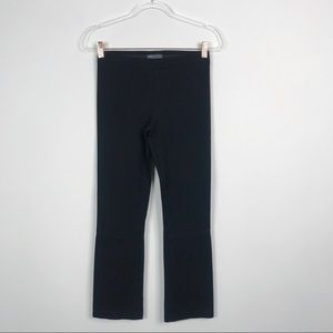Vince Ponte Knit Cropped Pull On Pants Black Small
